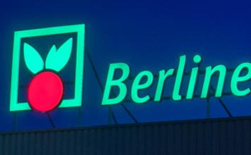Berliner Großmarkt - Informations- und Leitsystem von HORN Orientierungssysteme Berlin