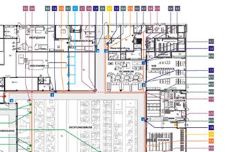 Freudenberg Sealing Technologies - Leitsystem von HORN Orientierungssysteme Berlin