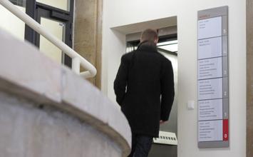 Hochschule für Wirtschaft und Recht - Leitsystem von HORN Orientierungssysteme Berlin