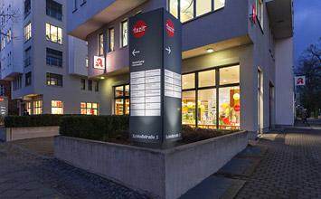 Facharztzentrum Tegel - Wegeleitsystem von HORN Orientierungssysteme Berlin